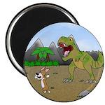 Corgi T-Rex Experience Magnet