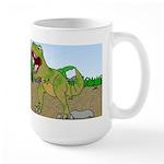 Corgi T-Rex Experience Large Mug