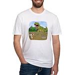 Corgi T-Rex Experience Fitted T-Shirt