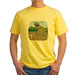 Corgi T-Rex Experience Yellow T-Shirt