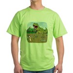 Corgi T-Rex Experience Green T-Shirt