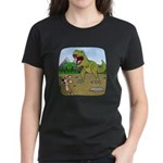Corgi T-Rex Experience Women's Dark T-Shirt