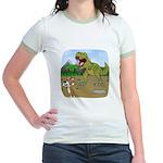 Corgi T-Rex Experience Jr. Ringer T-Shirt