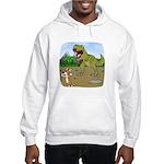 Corgi T-Rex Experience Hooded Sweatshirt