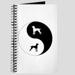 Yin Yang Weimaraner Journal
