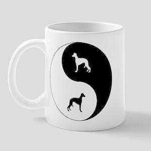 Yin Yang Whippet Mug