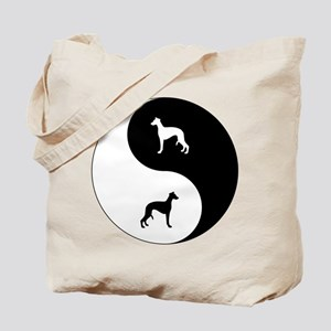 Yin Yang Whippet Tote Bag