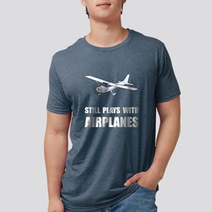 Plays With Airplanes Women's Dark T-Shirt