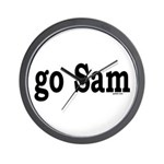 go Sam Wall Clock