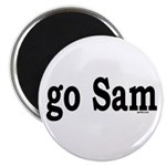 "go Sam 2.25"" Magnet (10 pack)"