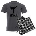 iKick Men's Charcoal Pajamas