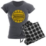 Water Polo Ball Women's Charcoal Pajamas