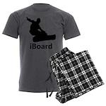 iBoard Men's Charcoal Pajamas