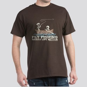 Fly Fishing Life Dark T-Shirt