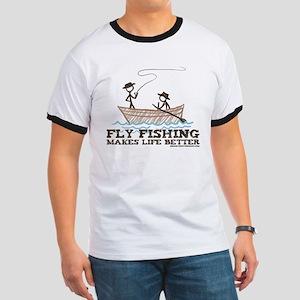 Fly Fishing Life Ringer T
