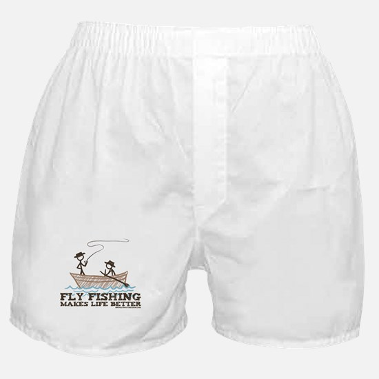 Fly Fishing Life Boxer Shorts