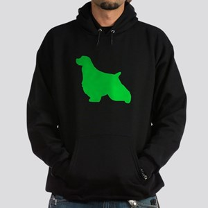 English Springer Spaniel St. Patty's Day Hoodie (d
