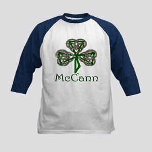McCann Shamrock Kids Baseball Jersey