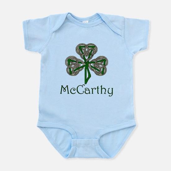 McCarthey Shamrock Infant Bodysuit