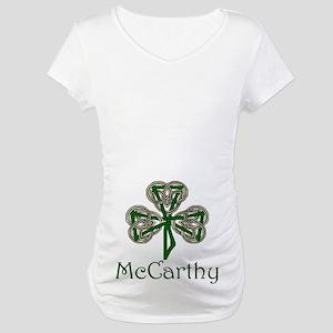 McCarthey Shamrock Maternity T-Shirt