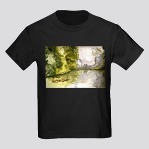 Pond Morning Kids Dark T-Shirt
