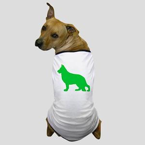 German Shepherd St. Patty's Day Dog T-Shirt