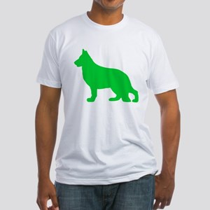 German Shepherd St. Patty's Day Fitted T-Shirt
