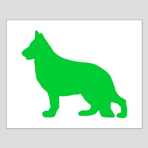 German Shepherd St. Patty's Day Small Poster