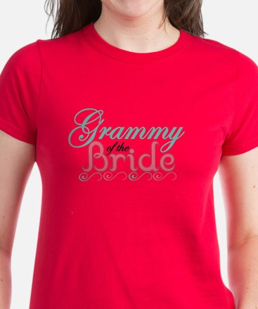 Grammy of the Bride Women's Dark T-Shirt