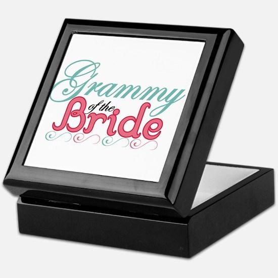 Grammy of the Bride Keepsake Box