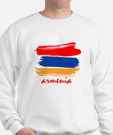 Armenian Flag design Sweatshirt