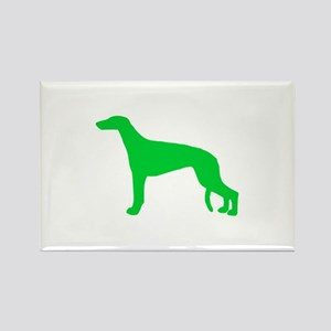 Greyhound St. Patty's Day Rectangle Magnet
