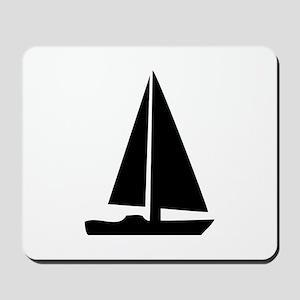 sail boat Mousepad