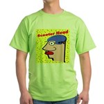 Motor Scooter Green T-Shirt