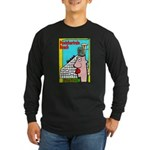 Pontchartrain Beach Long Sleeve Dark T-Shirt