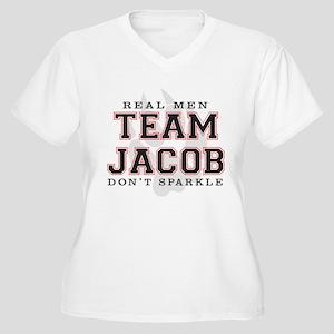 Team Jacob Women's Plus Size V-Neck T-Shirt