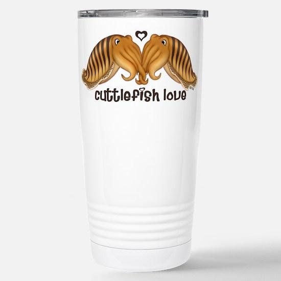 Cuttlefish Love 1 Stainless Steel Travel Mug
