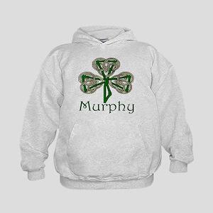 Murphy Shamrock Kids Hoodie