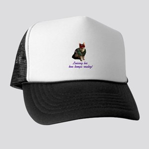 Mardi Gras Cat Trucker Hat