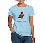 Mardi Gras Cat Women's Light T-Shirt