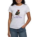 Mardi Gras Cat Women's T-Shirt