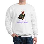Mardi Gras Cat Sweatshirt
