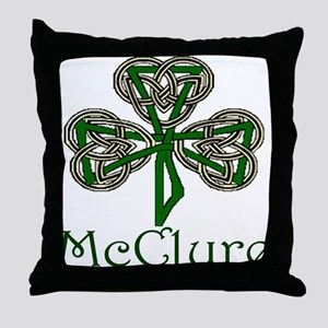 McClure Shamrock Throw Pillow