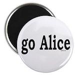 "go Alice 2.25"" Magnet (10 pack)"