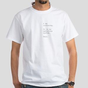 Confusing - Unix - Shirt (white)