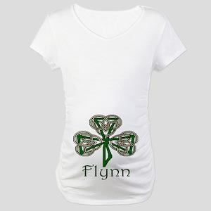 Flynn Shamrock Maternity T-Shirt
