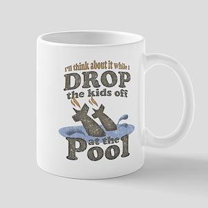 Drop the Kids Off Mug