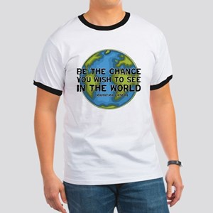 Gandhi - Earth - Change Ringer T