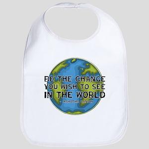 Gandhi - Earth - Change Bib