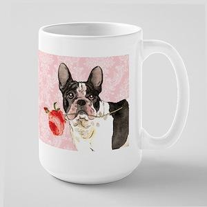 French Bulldog Rose Large Mug